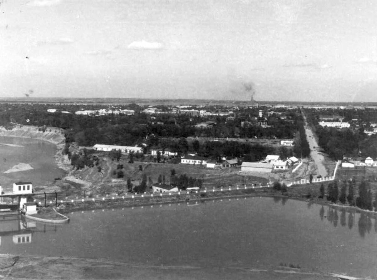 Maykop. Panorama of city