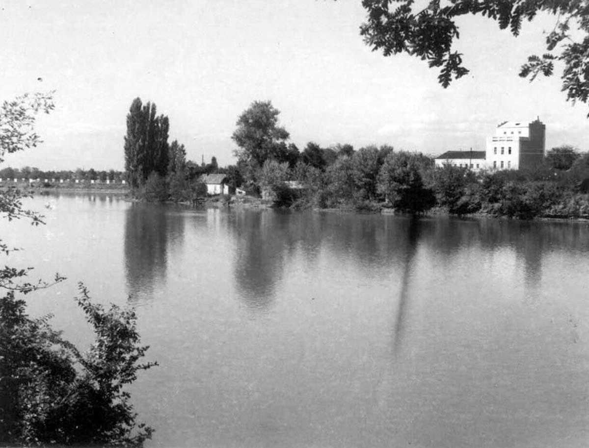 Maykop. Reservoir of Maikop HPS