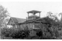 Mozhga. House of culture named Bobrov