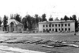 Mozhga. House of culture named Korolenko