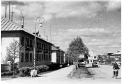Mozhga. District of the plant 'Dubitel'
