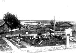 Mozhga. Public garden