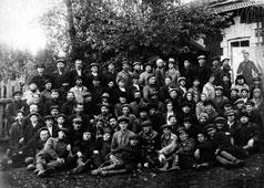 Mozhga. Employees of the plant 'Light'