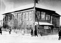 Mozhga. Old printing house