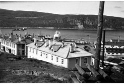 Murmansk. Kolsky Bay, district Petushinka, 1975