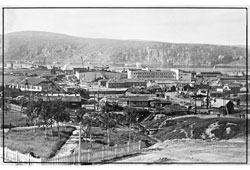 Murmansk. Panorama of the city