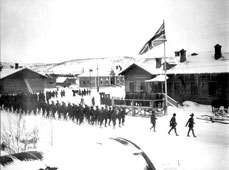 Murmansk. The Parade of Allied