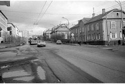 Murmansk. Lenin Avenue, the 1980s