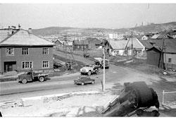Murmansk. View of cinema 'Murmansk', 1970s
