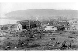 Murmansk. View from Gorelaya Mountain, 1918