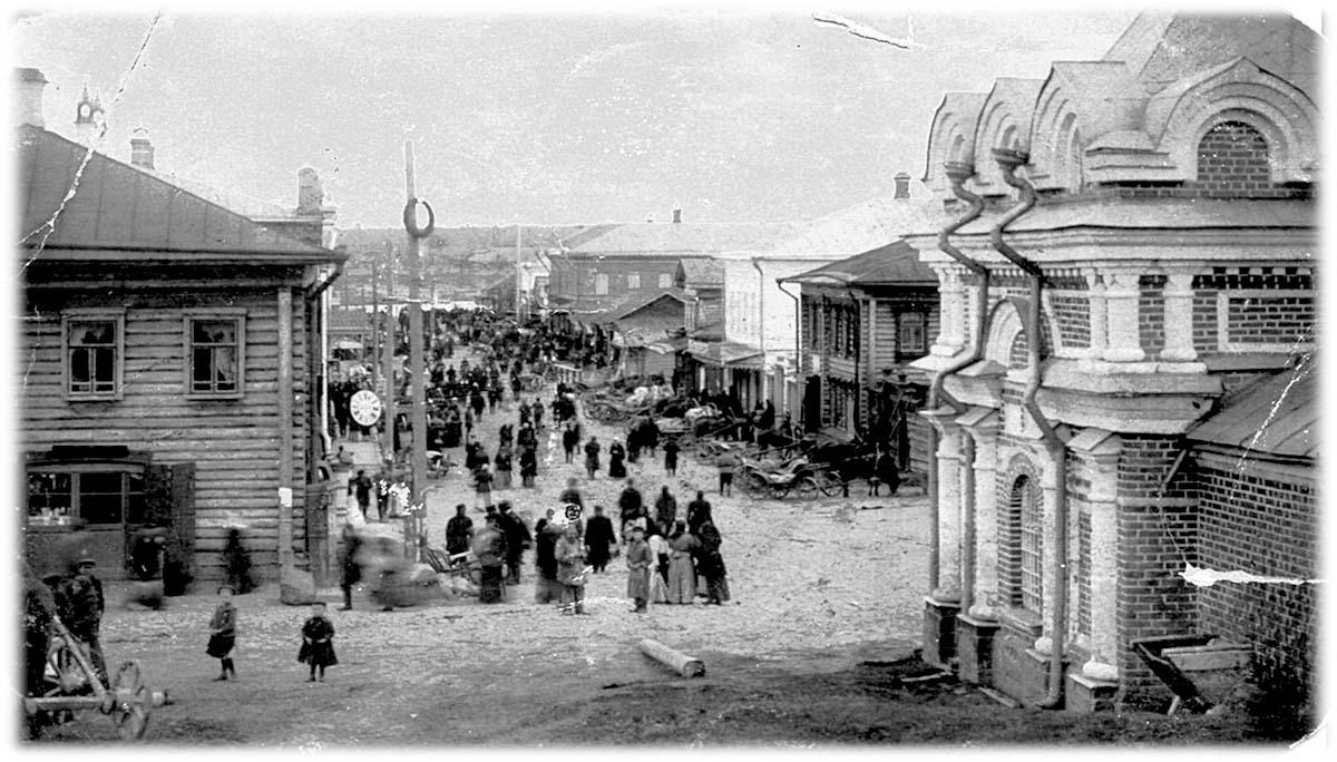 Myshkin. Borisoglebskaya Fair