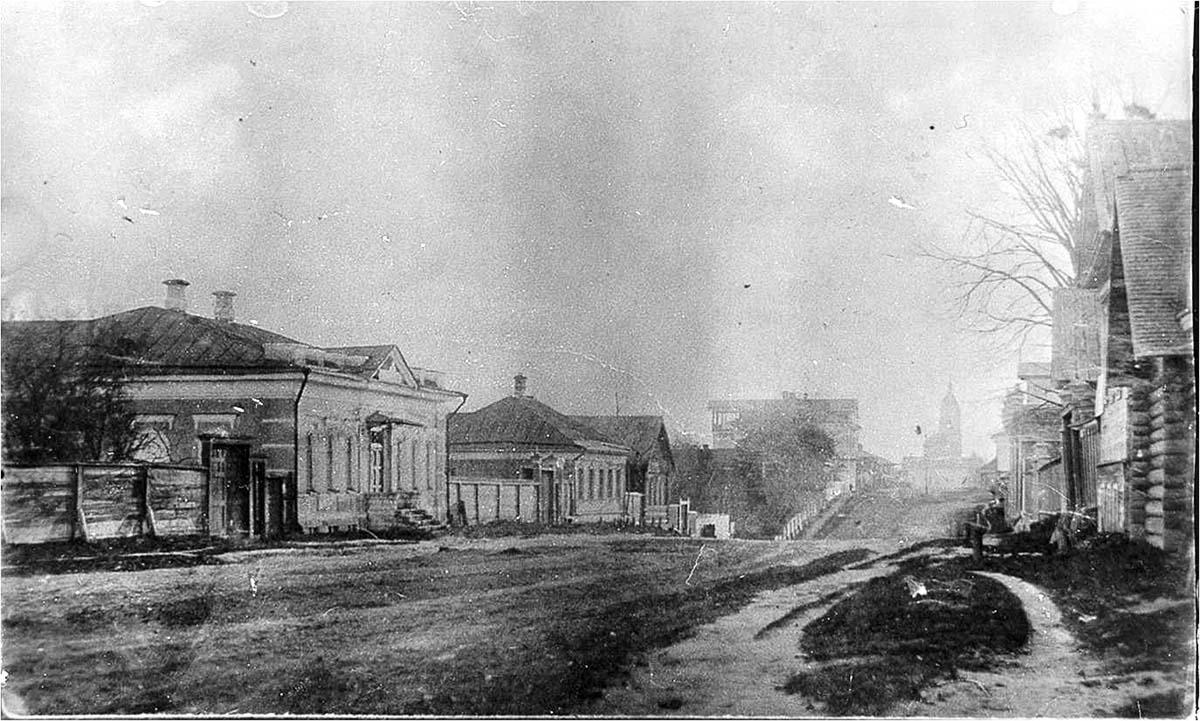 Myshkin. Nikolskaya street