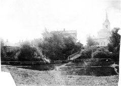 Myshkin. 'Kisses' Bridge and Nikolskaya Mountain
