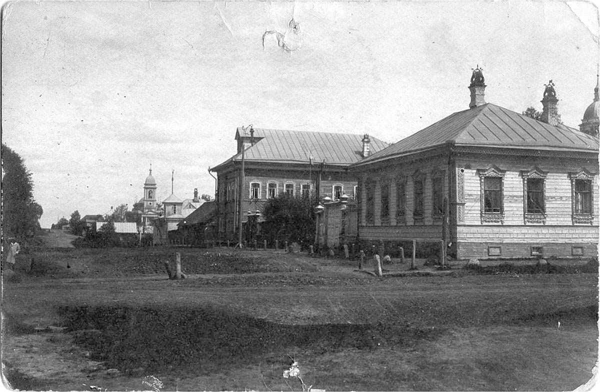 Myshkin. Rybinskaya street, 1910s