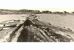 Naryan-Mar. Crossing. Sawmill plant, 1965