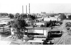 Neftekamsk. The industrial base, 1970
