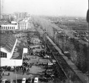 Neftekamsk. Central collective farm market, 1973