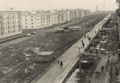 Neftekamsk. Crossroads of streets Komsomolskaya and Socialist