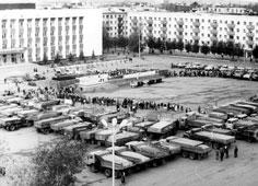Neftekamsk. The festival of first harvest, 1985