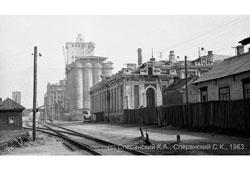 Nizhny Novgorod. Romodanovsky railway station and elevator