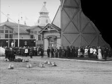 Nizhny Novgorod. Visit of Emperor Nicholas II to Exhibition, 1896