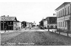 Great Novgorod. Znamenskaya street