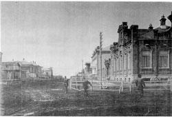 Novosibirsk. Gudimirovskaya street, 1910