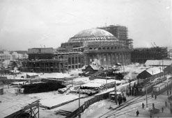Novosibirsk. Construction of the Opera House