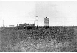 Novosibirsk. Water tower, 1950s