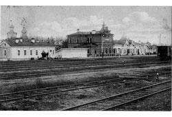 Novosibirsk. Terminal of station Novo-Nikolaevsk