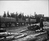 Okha. Narrow-gauge railway