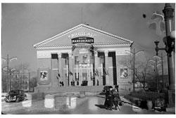 Omsk. Movie Theater named Mayakovsky, 1959