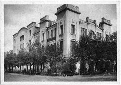 Omsk. The building of the brothers Elvorti, Tarskaya street