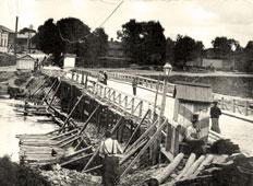 Oryol. Bridge over the Orlik River