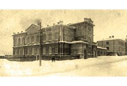 Perm. Military hospital