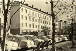 Petropavlovsk-Kamchatsky. Town Center, 1970s