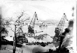 Petropavlovsk-Kamchatsky. Seaport, circa 1940's