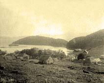 Petropavlovsk-Kamchatsky. Panorama of the city, 1896