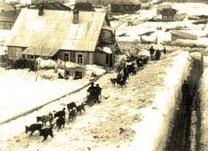 Petropavlovsk-Kamchatsky. Leninskaya street, circa 1920's