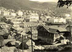 Petropavlovsk-Kamchatsky. View from small hill Nicholas