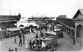 Petrozavodsk. Public wharf