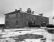 Petrozavodsk. The radio station, 1942
