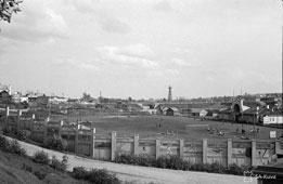 Petrozavodsk. Stadium, 1942