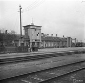 Petrozavodsk. Train station, circa 1940's