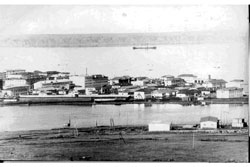 Pevek. Panorama of the city