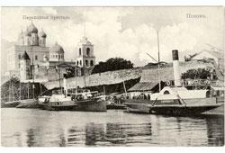 Pskov. Steamship wharf