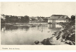 Pskov. View of the River