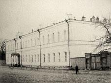 Ryazan. The sleeping building of the Seminary, 1903