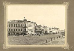 Ryazan. The corner of Sobornaya and Astrakhanskaya streets, 1917