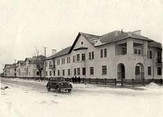 Ryazan. Popov street, 1951